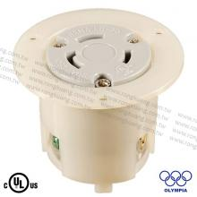 NEMA L6-30 Locking Flanged Outlet