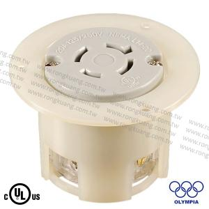 NEMA L14-20 Locking Flanged Outlet